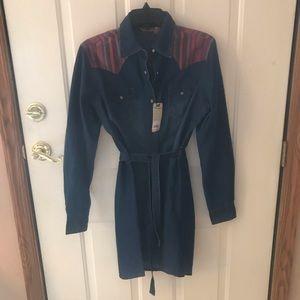 Wrangler Button Up Dress